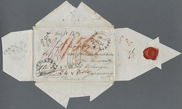 Briefe Nach England Schicken : England portobefreite briefe die heute ein vermögen