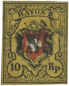 K1600_Los 5413 - Schweiz 10Rp Rayon - 489213